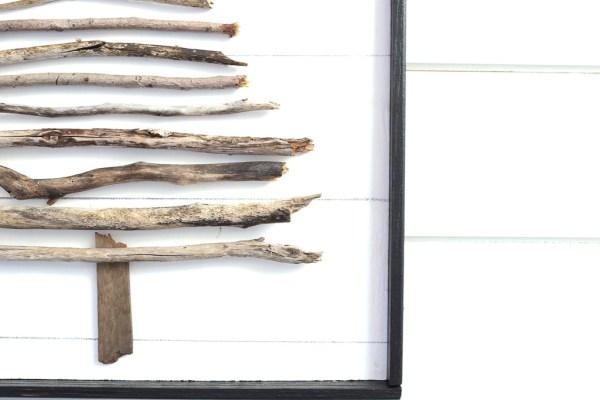 DIY Twig Tree, faux shiplap  This Mamas Dance-1