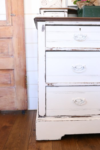 Vanilla Frosting Dresser Makeover | This Mamas Dance-1