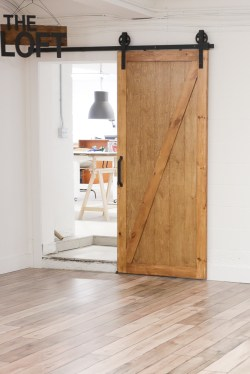 How to Install a Barn Door and Track | via Ashlea of This Mamas Dance-1