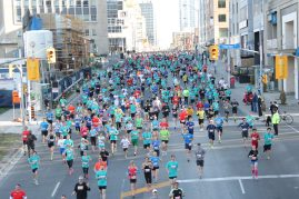 One of the largest races in Canada - over 20,000 people.