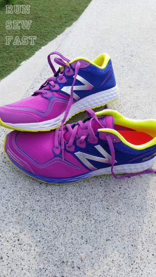New shoes. New Balance Fresh Foam Zante.