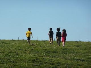 Lagos Covadonga correr jugar