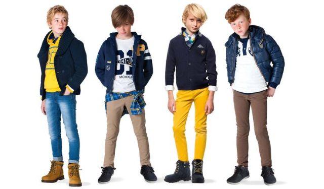 comodidad moda infantil invierno