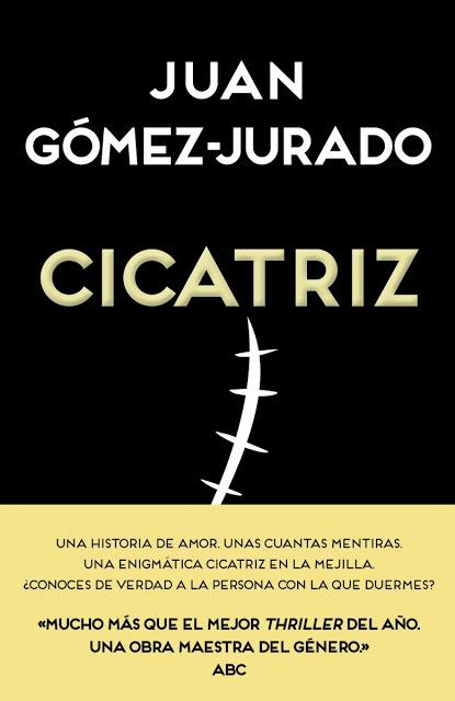 Cicatriz de Juan Gómez Jurado