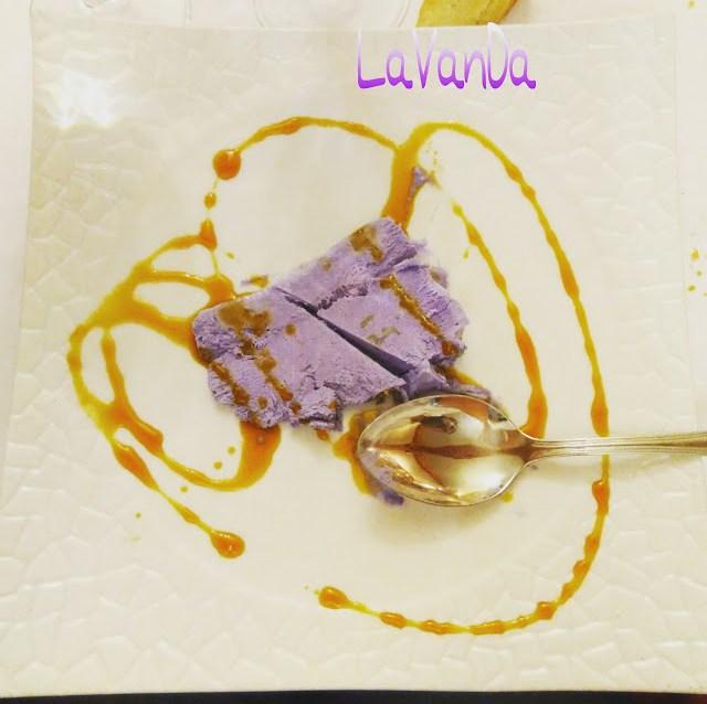 helado lavanda gastronomía
