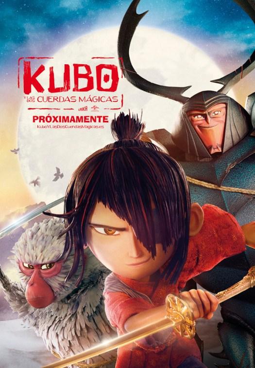cine animación Laika Kubo Japón