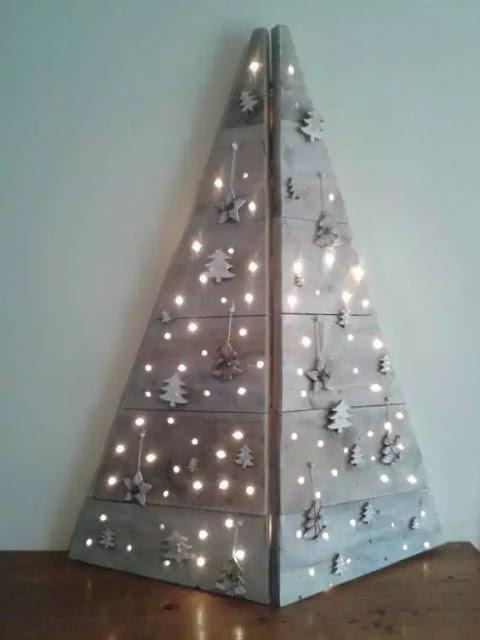 árbol luces navidad esquina