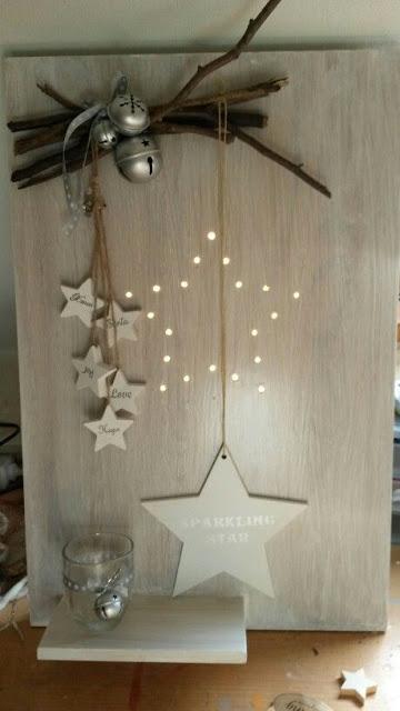 luces estrellas blanco navidad