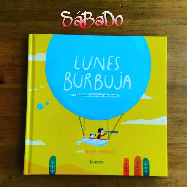 lunes burbuja libro ilustraciones lumen
