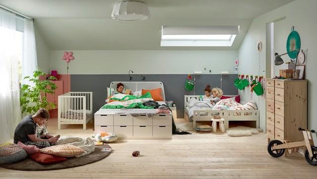 decoración dormitorios y buhardillas