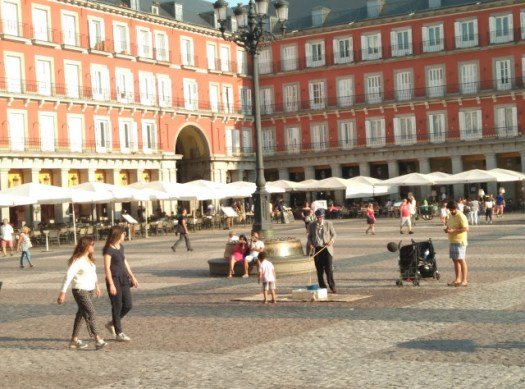 Viajar Madrid Plaza Mayor