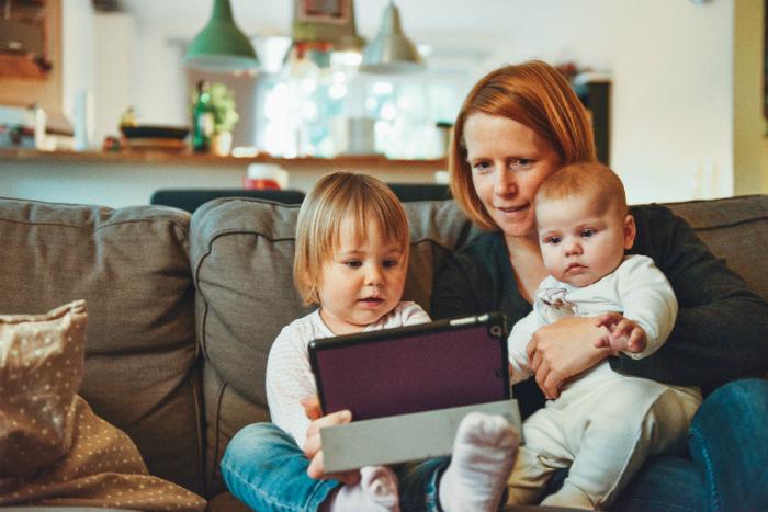 móviles y niños