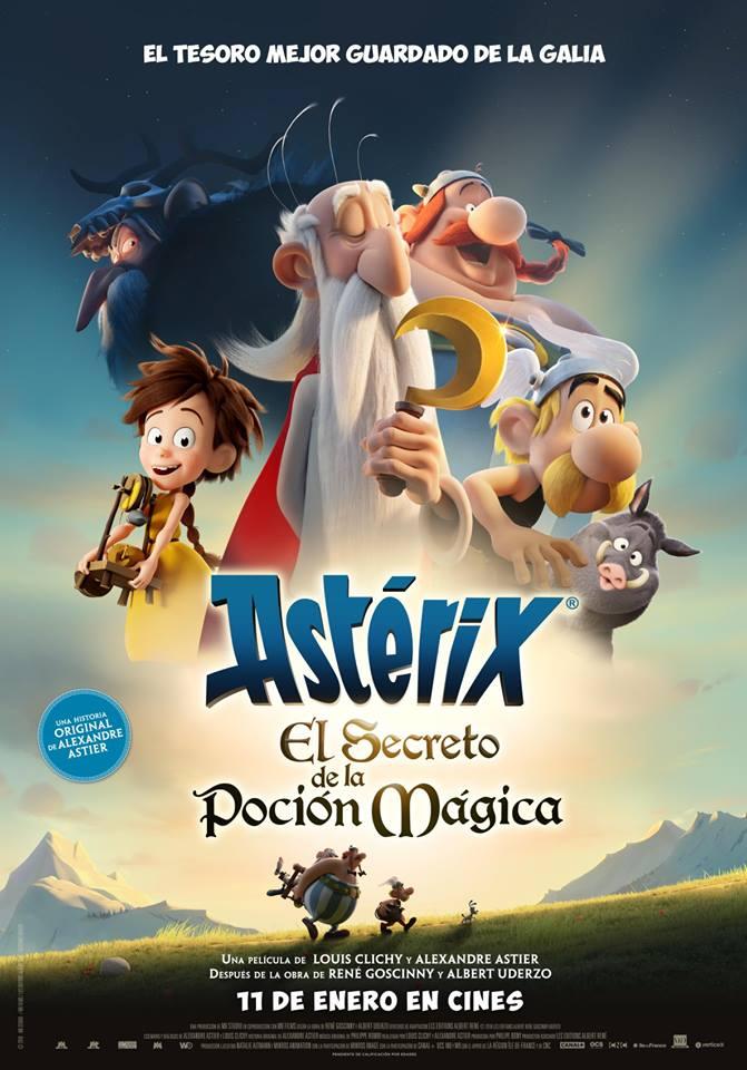 Asterix vuelve al cine ¿te apuntas a conocer su secreto?