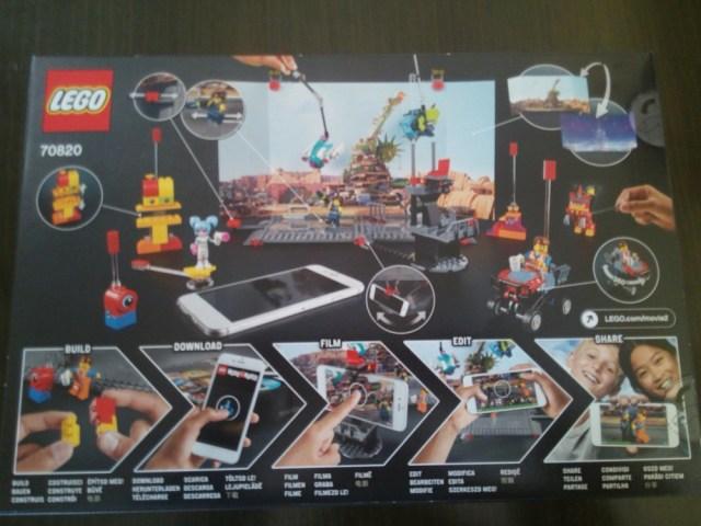 cine con Lego