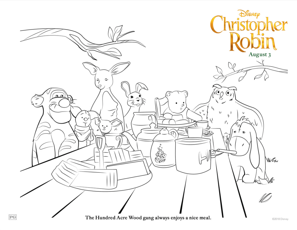 Grab Your Free Printable Disney S Christopher Robin