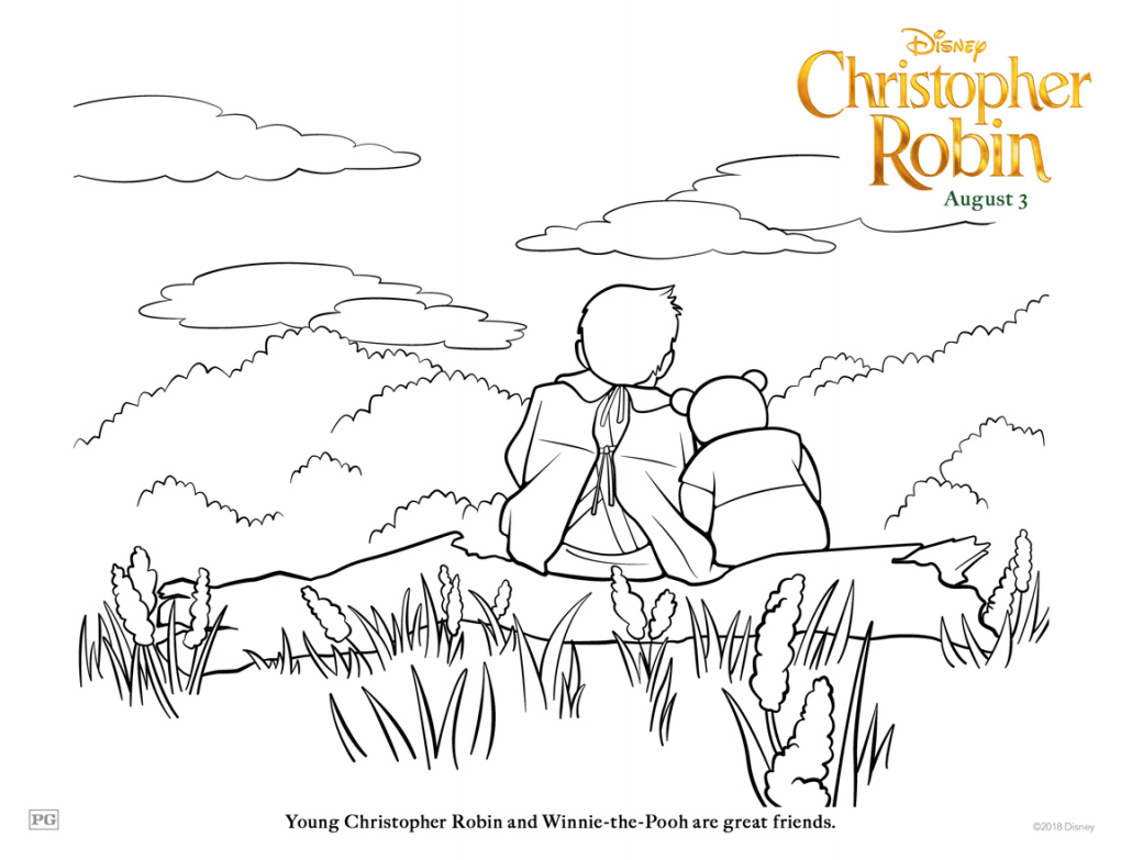 Grab Your FREE Printable Disney's Christopher Robin