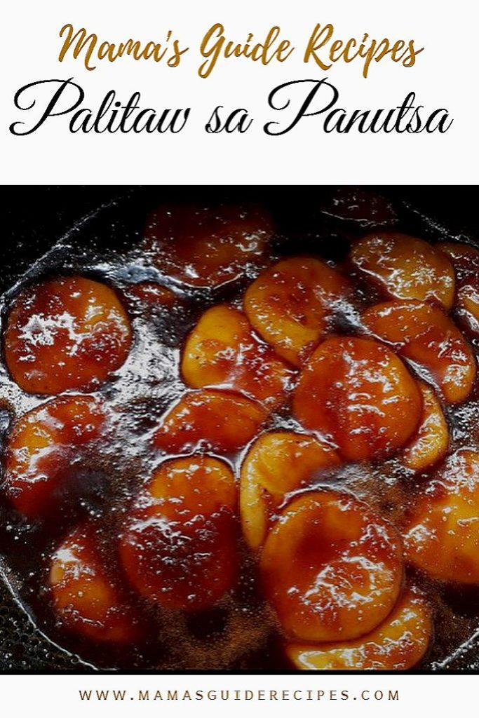 Palitaw sa Panutsa Sauce