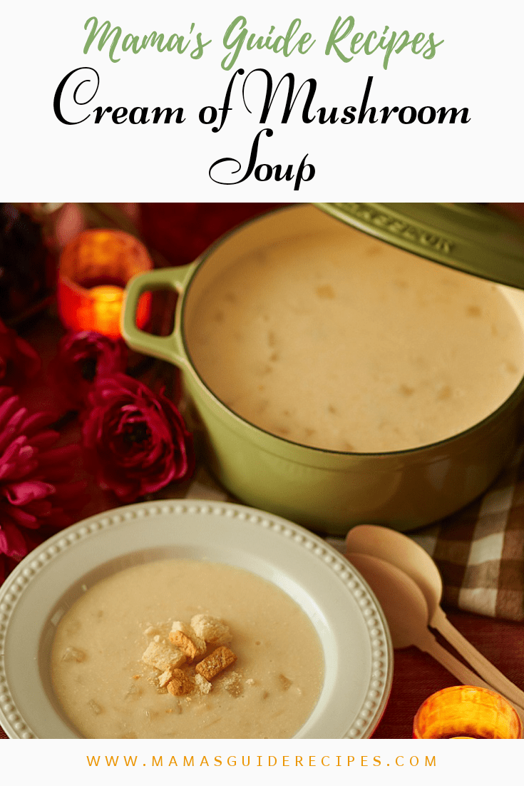Cream Of Mushroom Soup Mama S Guide Recipes