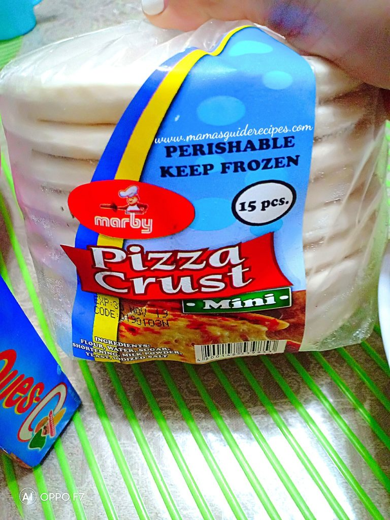 Frozen Mini Pizza Crust