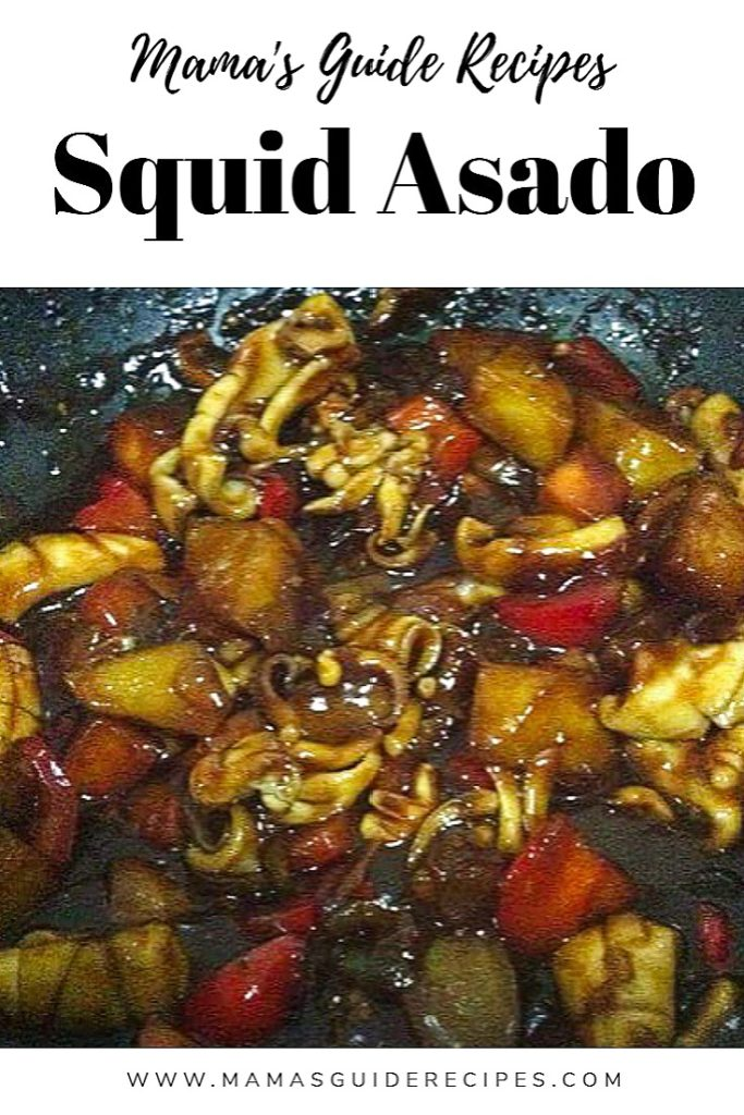 Squid Asado Recipe