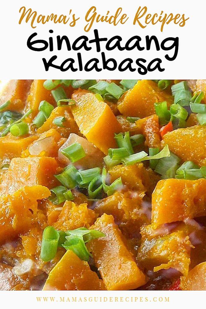 Ginataang Kalabasa