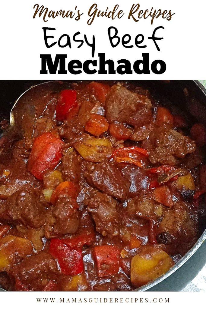 EASY BEEF MECHADO
