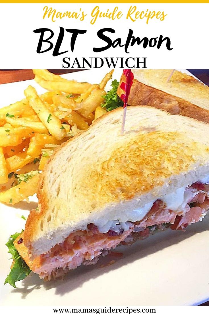BLT Salmon Sandwich