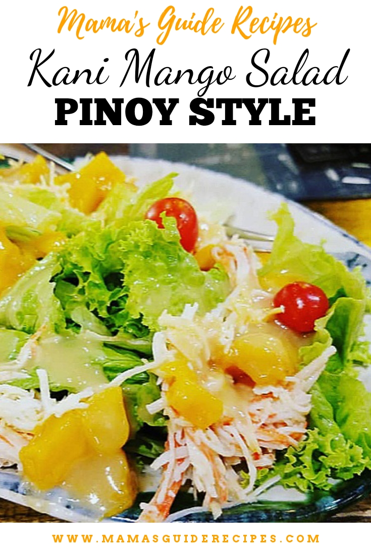 KANI MANGO SALAD RECIPE