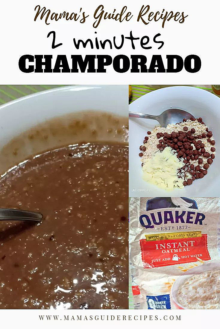 2 minutes Champorado