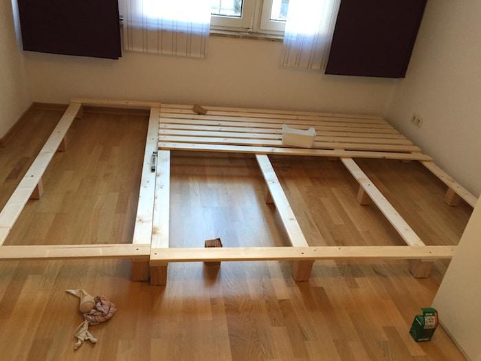 Bauanleitung fr ein Familienbett  Mamaskind