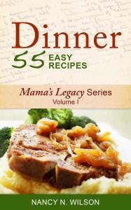 Dinner - 55 Easy Recipes Cover