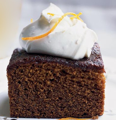 Piece of Gingerbread Cake