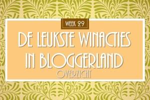 winactie wk 29
