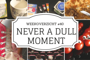 weekoverzicht Never a Dull Moment #40