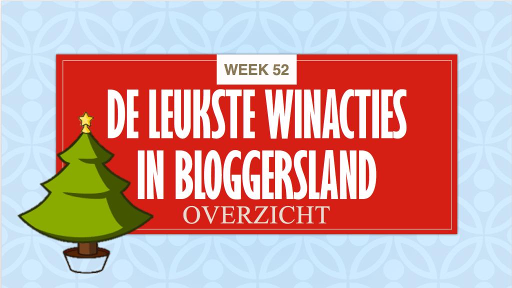 Winacties week 52