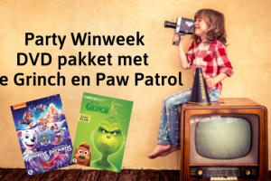 Party Winweek | DVD pakket met De Grinch en Paw Patrol