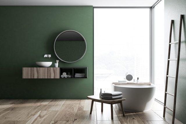 Botanische badkamer - Shutterstock door ImageFlow