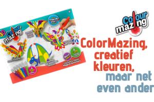 ColorMazing, creatief kleuren, maar net even anders