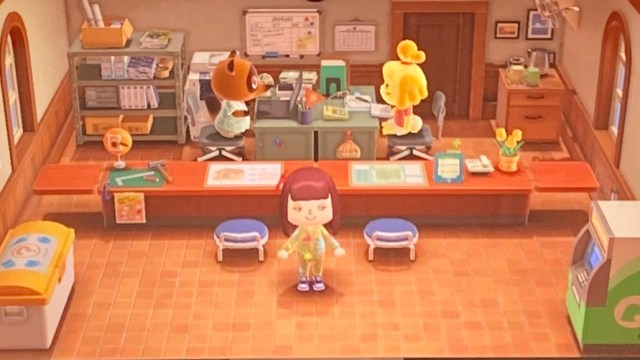 Animal Crossing Service Station