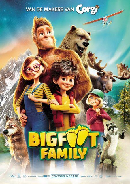 Bigfoot Family filmposter