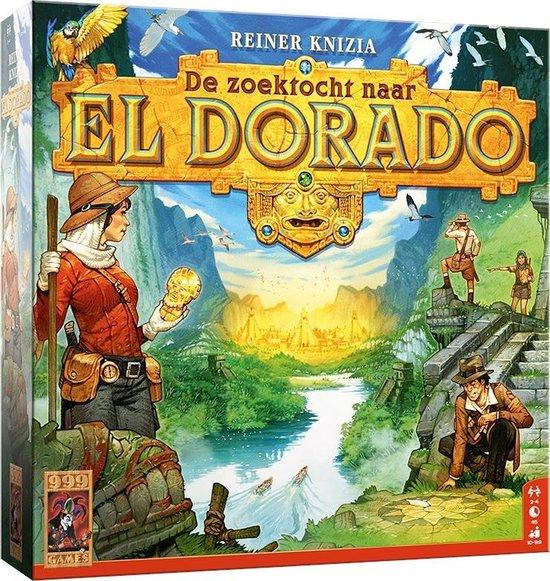 Winnaar Speelgoed van het Jaar 2020 Catagorie 10 & 11 jaar -De Zoektocht naar El Dorado (999 Games)