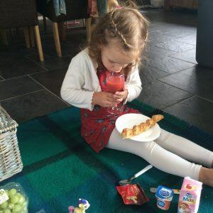 Picknicken binnen