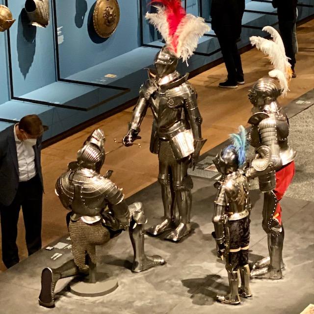 Romanovs in de ban van de ridders in de Hermitage in Amsterdam.