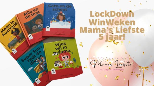 Lockdown winweken & 5 jaar Mama's Liefste | Mo's Daughters boekjes