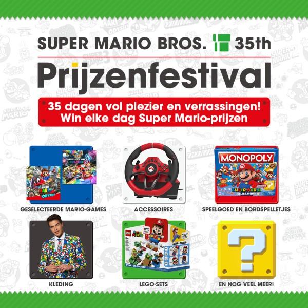Nintendo 35 jaar Super Mario Bros. Prijzenfestival 2020