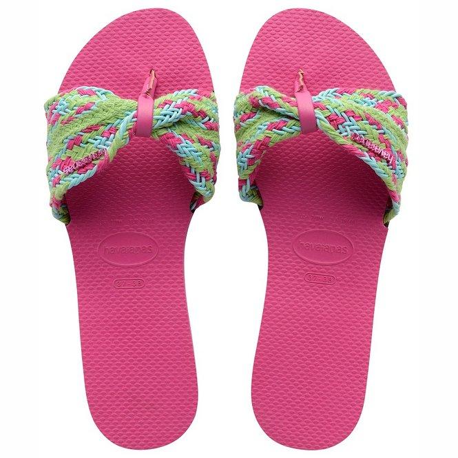 Havaianas You Saint Tropez Mesh Pink Flux