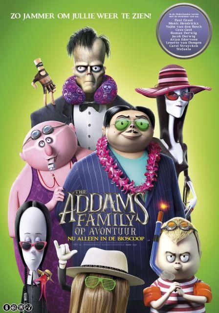 The Adams Family op avondtuur