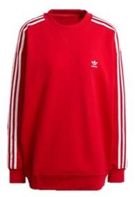 Dress Red Day - adidas Originals sweatshirt LOUNGEWEAR ADICOLOR CLASSICS OVERSIZE