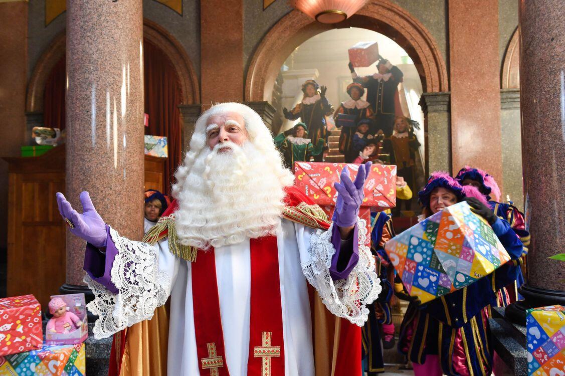 De Grote Sinterklaas film Trammelant in Spanje
