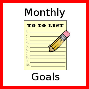 monthly goals linky at mama smiles
